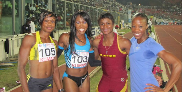 The rlg Ghana Grand Prix is an International track and field athletes that was first held in Kumasi on 6th July, 2011.