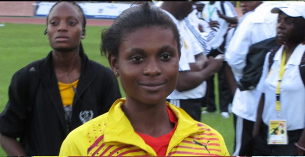 Sprinter Janet Amponsah wrote her name into the history books after winning fifth place in the 200m final with a new personal best (PB) of 23.41 secs at the 14th IAAF World Junior Athletics Championship in Barcelona, 2012.