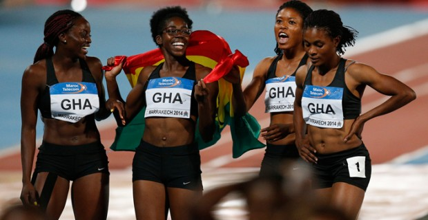 Ghanaian athletes continued their impressive start to the indoor season with some strong performances in the latest rankings released by the Ghana Athletics Association