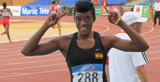 Multi talented athlete Elizabeth Dadzie has confirmed her status as heir to Ghanaian Heptathlon Queen, Margaret Simpson, after winning a silver medal in the heptathlon at the 19th African Athletics Championship in Marrakech, Morocco.