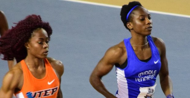 Middle distance specialist Agnes Abu has obliterated the 14-year-old 800m indoor national record by more than 2 seconds clocking 2 minutes 2.30 seconds.